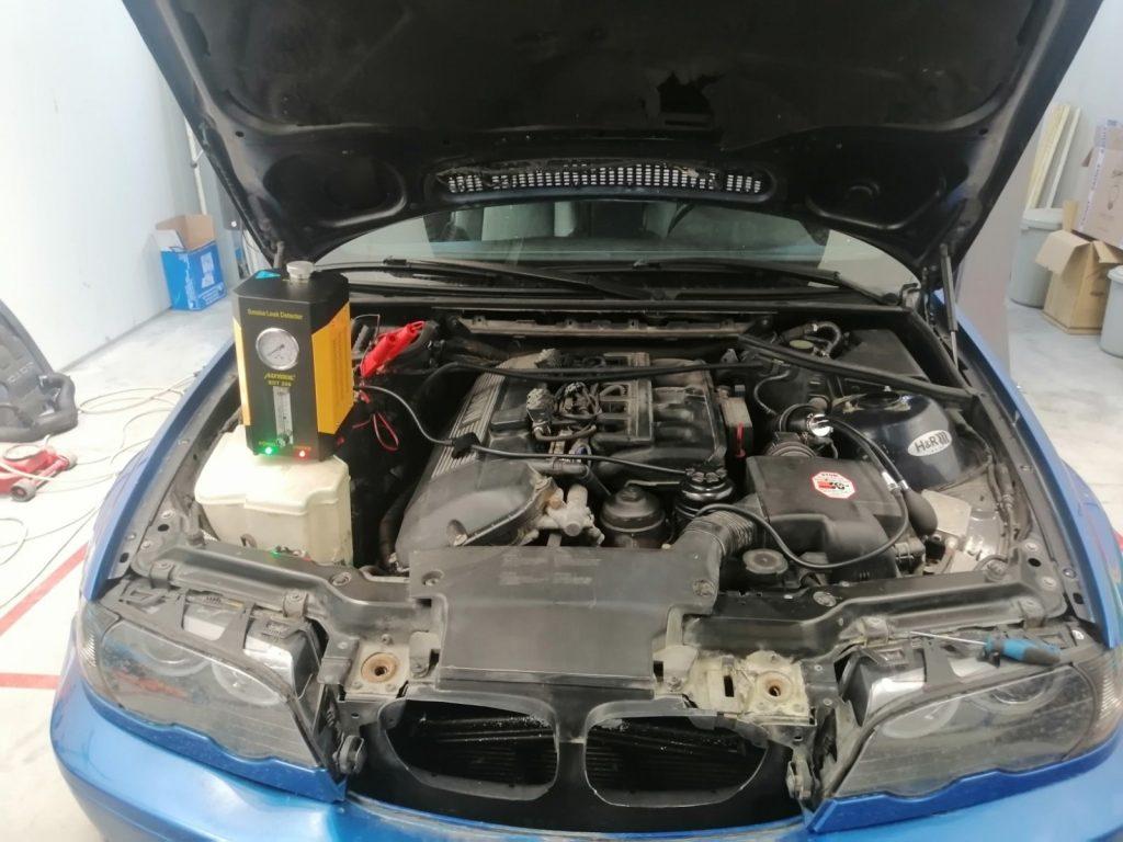 течове в смукателната система BMW