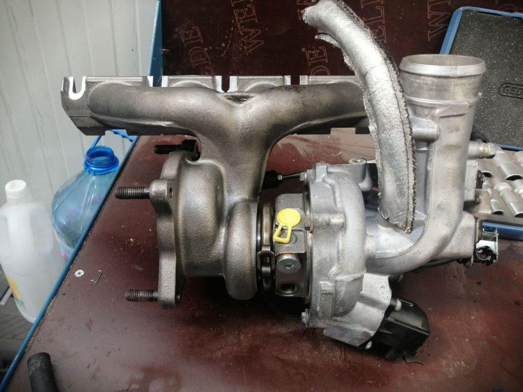 подмяна на турбокомпресор варна