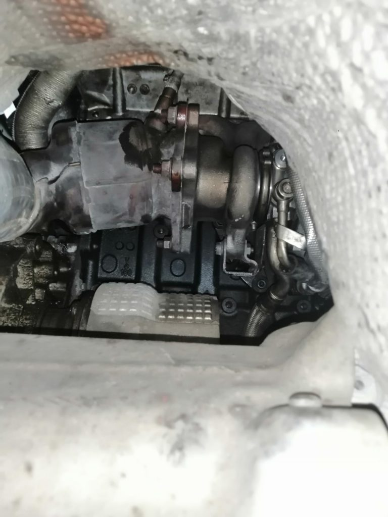 подмяна на турбокомпресор